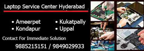 Laptop service center in kukatpally